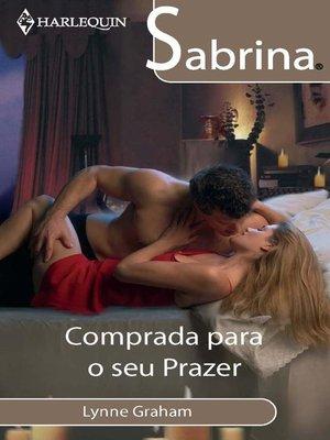 cover image of Comprada para o seu prazer