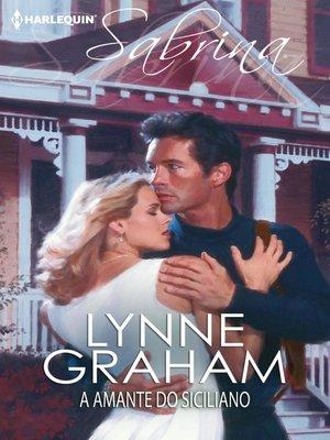 cover image of A amante do siciliano