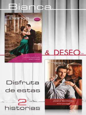 cover image of E-Pack Bianca y Deseo noviembre 2019