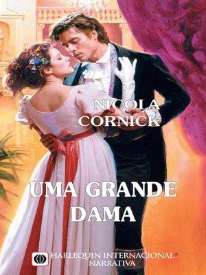 cover image of Uma grande dama