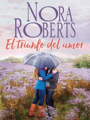 cover image of El triunfo del amor