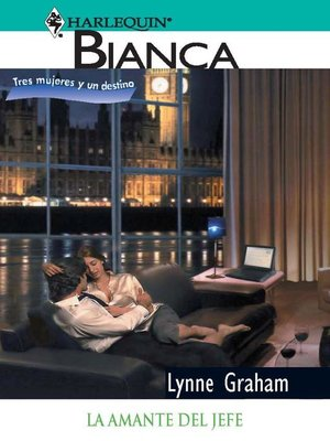 cover image of La amante del jefe