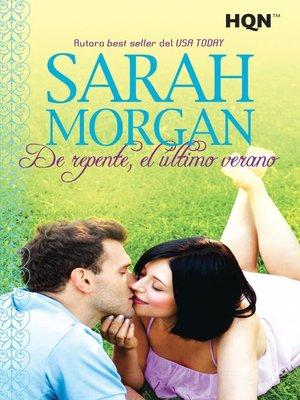 cover image of De repente, el último verano