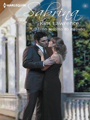 cover image of O filho secreto do italiano