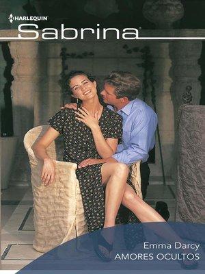cover image of Amores ocultos