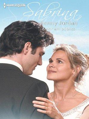 cover image of Amor em público