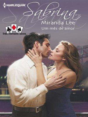 cover image of Um mês de amor