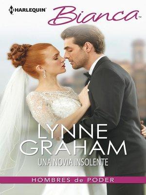 cover image of Una novia insolente