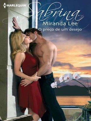 cover image of O preço de um desejo