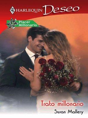 cover image of Trato millonario