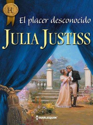 cover image of El placer desconocido