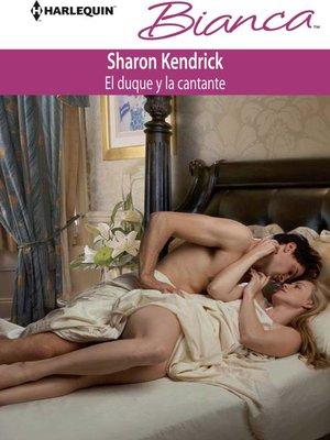 cover image of El duque y la cantante