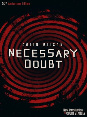 cover image of Necessary Doubt