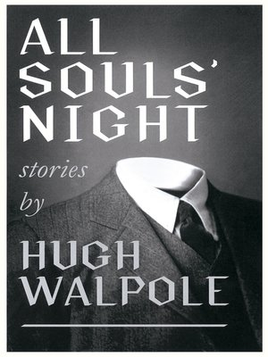 cover image of All Souls' Night