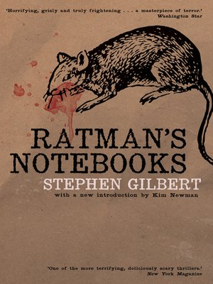 cover image of Ratman's Notebooks