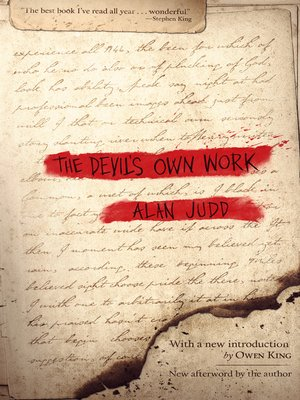 cover image of The Devil's Own Work