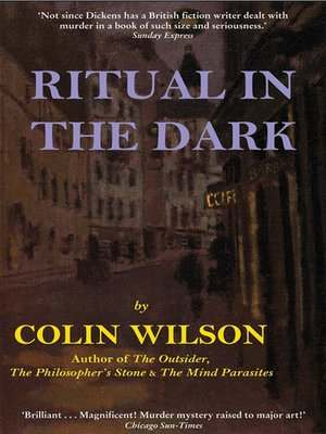 cover image of Ritual in the Dark