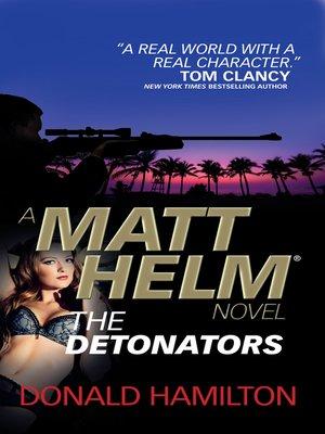 cover image of Matt Helm--The Detonators