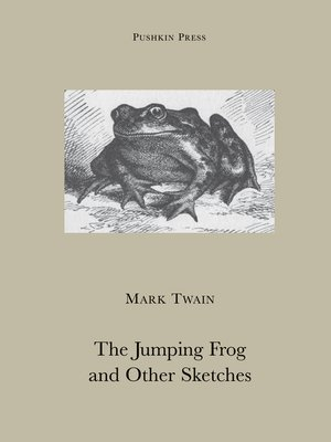 cover image of The Jumping Frog and Other Sketches