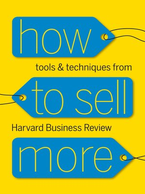 cover image of How to Sell More