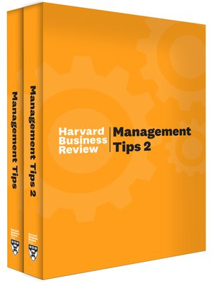 cover image of HBR Management Tips Collection (2 Books)