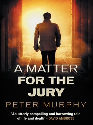 cover image of A Matter for the Jury