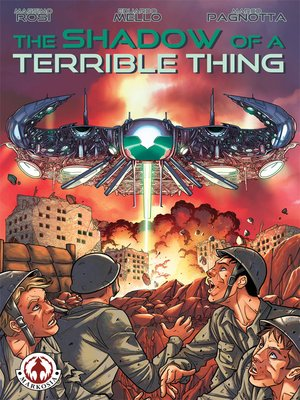 cover image of The Shadow of a Terrible Thing