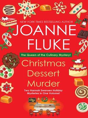 cover image of Christmas Dessert Murder
