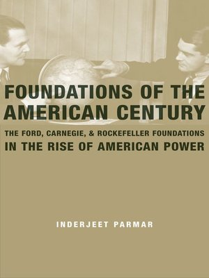 cover image of Foundations of the American Century