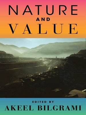 cover image of Nature and Value