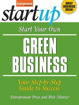cover image of Start Your Own Green Business