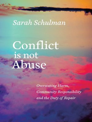 cover image of Conflict Is Not Abuse
