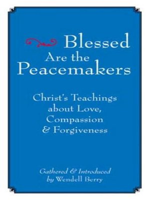 cover image of Blessed Are the Peacemakers