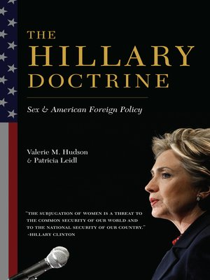 cover image of The Hillary Doctrine