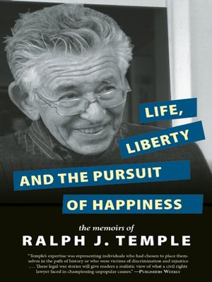 cover image of Life, Liberty and the Pursuit of Happiness