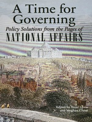 cover image of A Time for Governing