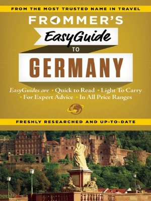 cover image of Frommer's EasyGuide to Germany