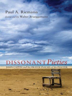 cover image of Dissonant Pieties