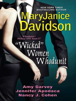 """cover image of """"Wicked"""" Women Whodunit"""