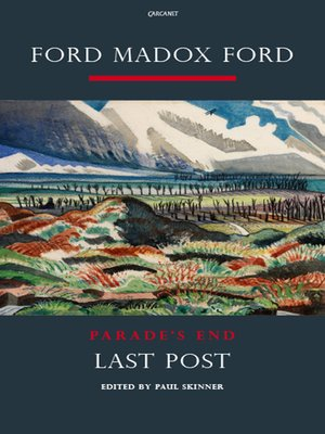 cover image of Parade's End Volume IV