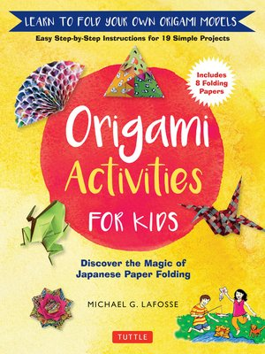 cover image of Origami Activities for Kids