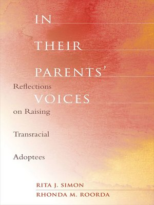cover image of In Their Parents' Voices