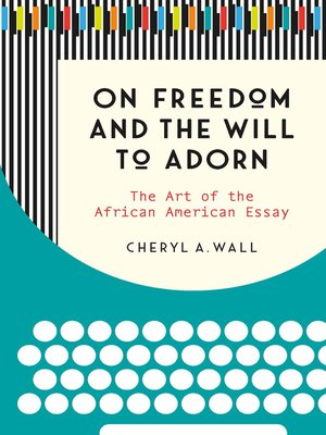 cover image of On Freedom and the Will to Adorn