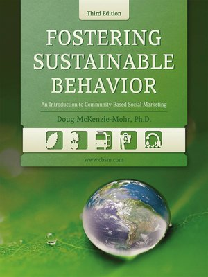 cover image of Fostering Sustainable Behavior