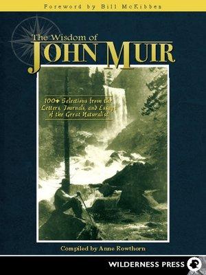 cover image of Wisdom of John Muir
