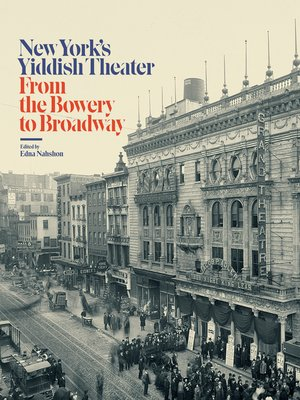 cover image of New York's Yiddish Theater