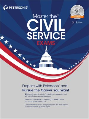 cover image of Master the Civil Service Exams