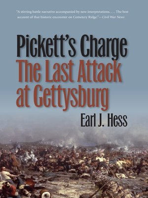 cover image of Pickett's Charge—The Last Attack at Gettysburg