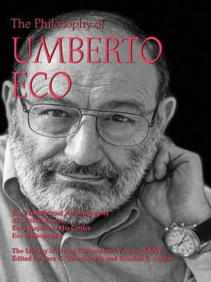 cover image of The Philosophy of Umberto Eco