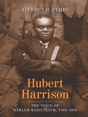 cover image of Hubert Harrison